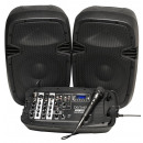 wholesale Consumer Electronics: Denver DJ-200 portable Bluetooth DJ mixer with