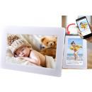 Großhandel Bilder & Rahmen: Denver PFF-710White Frameo Digitaler ...