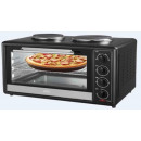 wholesale Microwave & Baking Oven: AFK Mini Oven  BO-35RH with 2 hotplates 1