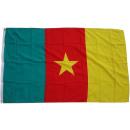 grossiste Gadgets et souvenirs: Drapeau Cameroun 90 x 150 cm