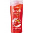 Naturia Körperpeeling Mini Waschen Erdbeere 100g