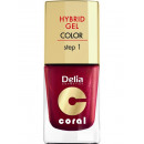wholesale Nail Varnish: Hybrid Gel Nail NR13 red pearl 11ml
