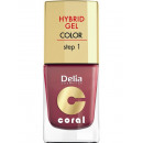 wholesale Nail Varnish: Hybrid Gel nail  enamel NR18 marsala 11ml