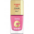 Hybrid-Gel-Nagel NR22 Zuckerwatte rosa 11ml