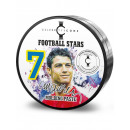 Estrellas de fútbol Ronaldo pasta de modelar para