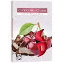Scented candles; Chocolate and Cherry 6p.