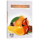 Duftkerzen, Zimt & Orangen 6p.
