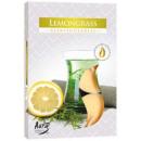 Candele profumate, tealight: Citronella 6p.