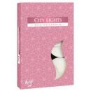 Ciudad luces de velas perfumadas; TEALIGHT 6 pieza