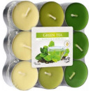 Scented candles, tealight green tea 18pcs.