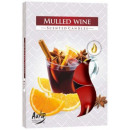Scented candles, tealight: Mulled wine 6p.