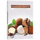 Scented candles, tealight: truffle walnut 6p.