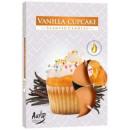 Duftkerzen, Plätzchen und Vanille 6p.