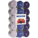 Scented candles, tealight: berries 30 pieces.
