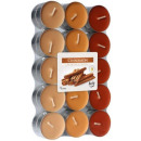 grossiste Bougies & bougeoirs: Bougies parfumées,  photophore cannelle 30 pcs.