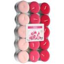 Duftkerzen, Teelicht: rose 30 Stück.