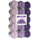 Scented candles, tealight lavender 30 pcs.