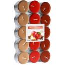 groothandel Kaarsen & standaards: Geurkaarsen,  theelichtje: Apple & Cinnamon 30p