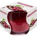 wholesale Food & Beverage: Scented candle in  a glass; Chocolate and Cherry