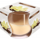 Scented candle in a glass; Vanilla