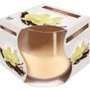 Duftkerze in einem Glas; Vanille