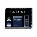 La Rive for Men Extreme Geschichte; Set edt + deo