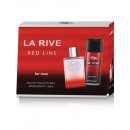 La Rive for Men Red Line Kit / edt90ml + deo150ml