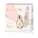 La Rive für Frau in der Liebe Kit / edp90ml + deo1
