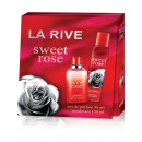 wholesale Perfume: La Rive for Woman Sweet Rose set EDP + deo