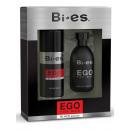 wholesale Perfume: Bi-es Ego Black Set EDT + deo