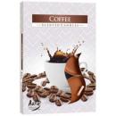 Duftkerzen, Teelicht: Kaffee; 6p.