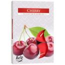 Duftkerzen, Teelicht: Kirsche; 6p.