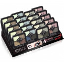 Großhandel Make-up: Set: Lidschatten quattro 16pcs + Tester.