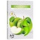 Duftkerzen, Teelicht; 6 Stück grüner Apfel.