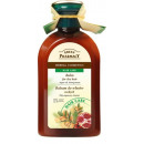 Hair balm with argan oil