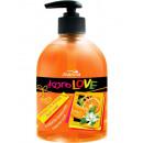 jabón líquido para el cuerpo con el aroma de manda