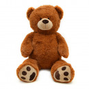wholesale Toys: Teddy Charlie,  100cm XXL plush brown