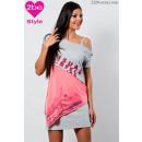 ingrosso Ingrosso Abbigliamento & Accessori: modello top,  grigio-rosa delle donne