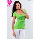 ingrosso Ingrosso Abbigliamento & Accessori: girocollo in alto femminile, verde