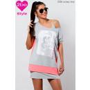 ingrosso Ingrosso Abbigliamento & Accessori: Donne esterno  fantasia, rosa-szürke4