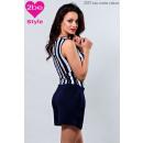 ingrosso Ingrosso Abbigliamento & Accessori: salopette corte, blu e bianco
