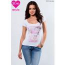 ingrosso Ingrosso Abbigliamento & Accessori: girocollo in alto femminile, bianco