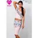 ingrosso Ingrosso Abbigliamento & Accessori: Donne szoknys al ginocchio rosa