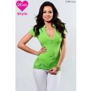 ingrosso Ingrosso Abbigliamento & Accessori: Donne collare esterno, verde