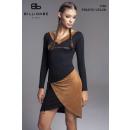 wholesale Dresses: WOMEN'S BLACK DRESS-suede