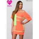 ingrosso Ingrosso Abbigliamento & Accessori: Abbigliamento  donna barca-collo, arancio