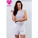 ingrosso Ingrosso Abbigliamento & Accessori: camici delle donne  breve, beige e bianco