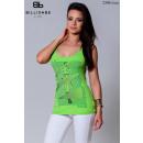 ingrosso Ingrosso Abbigliamento & Accessori: Maglietta senza  maniche delle donne, verde