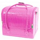 groothandel Tassen & reisartikelen: Cosmetische zak - Zachte Croco - Red