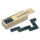 Großhandel Holzspielzeug: DOMINO GAME HOLZKISTE im Fall von 28